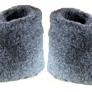 boots black tall wool - Copy
