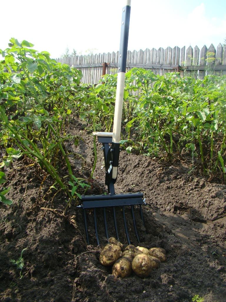 Potato Digger Robo Farmer Transformer Tiller Rake Fork